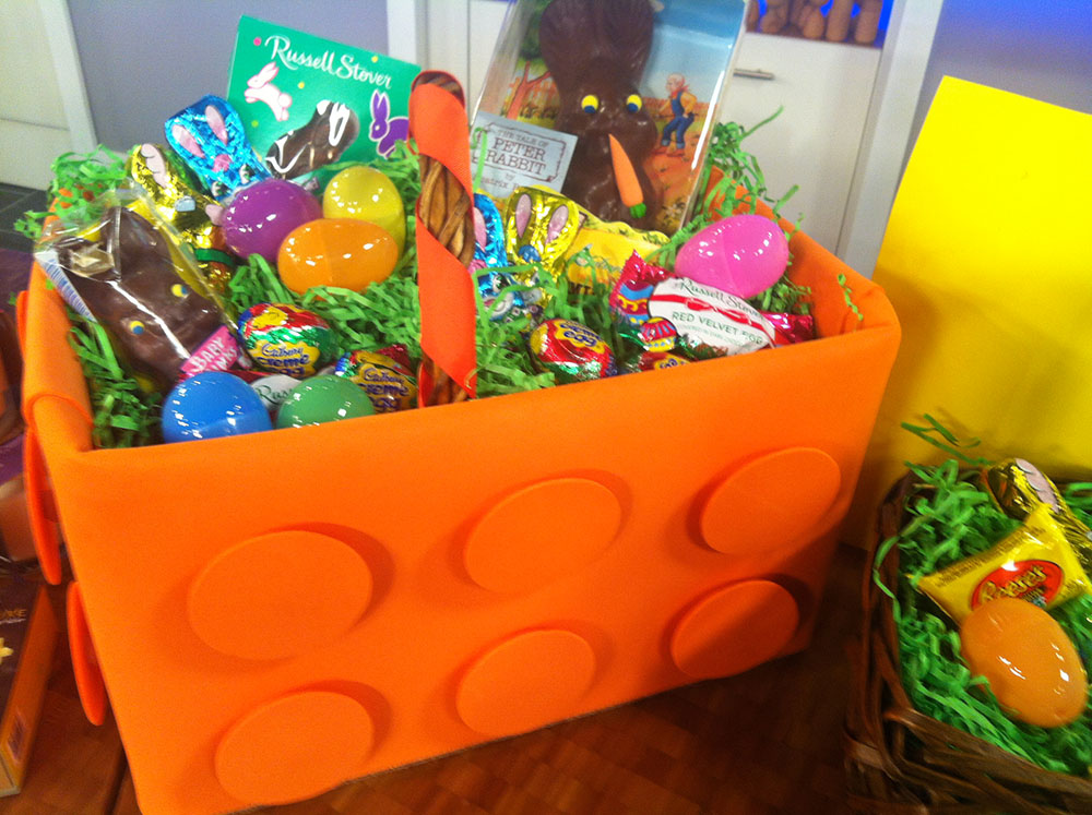 How to make a lego inspired easter basket maureen petrosky lifestyle how to make a lego inspired easter basket negle Choice Image