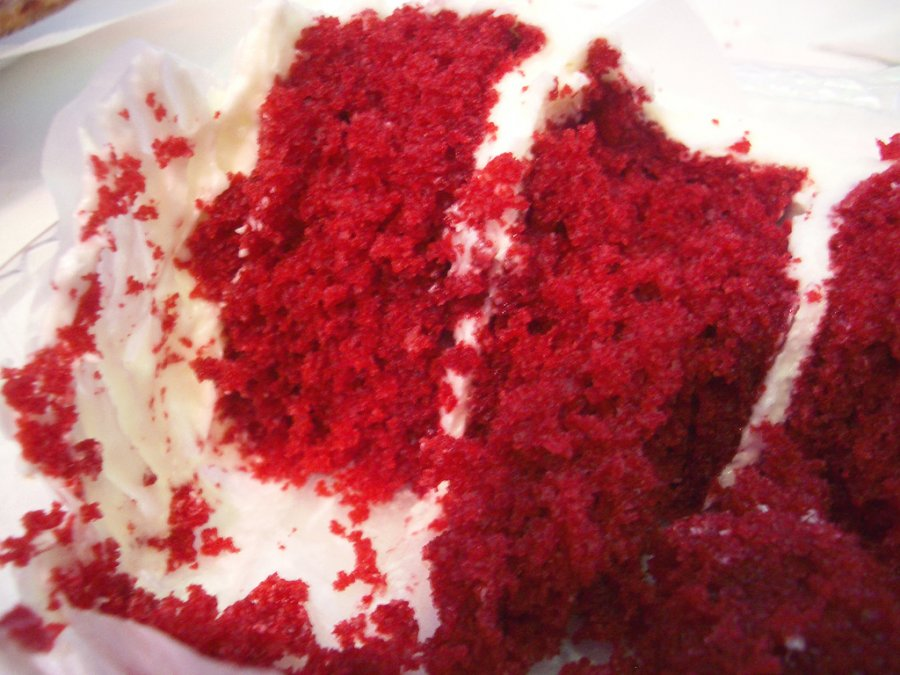 Red Velvet Cake With Cream Cheese Icing - Maureen Petrosky Lifestyle