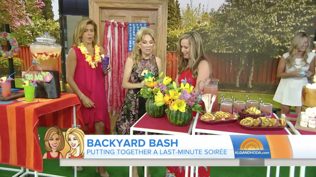 Today Show How To Make Your Last Minute Backyard Bash Look Like You